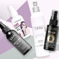 Средства для закрепления макияжа