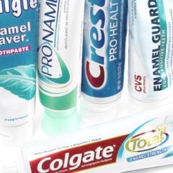 Зубная паста и гель