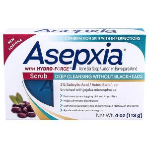 Asepxia Scrub Soap Мило-скраб для шкіри обличчя і тіла, схильної до акне 113 г