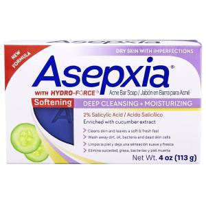 Asepxia Softening Bar Soap Пом'якшуюче мило для шкіри обличчя і тіла, схильної до акне 113 г