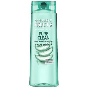 Garnier Fructis Pure Clean Fortifying Shampoo Очищуючий та зміцнюючий шампунь з екстрактом алое 370 мл