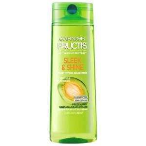 Garnier Fructis Sleek & Shine Fortifying Shampoo Розгладжуючий та зміцнюючий шампунь з аргановою олією 370 мл