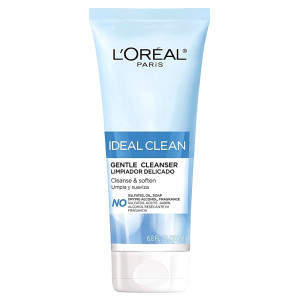 "L'Oreal Paris Ideal Clean Gentle Cleanser Нежное очищающее средство для лица ""Идеальная чистота"" 200 мл"
