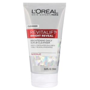 L'Oreal Paris Revitalift Bright Reveal Brightening Daily Scrub Cleanser Щоденний очищуючий скраб для сяяння шкіри 150 мл