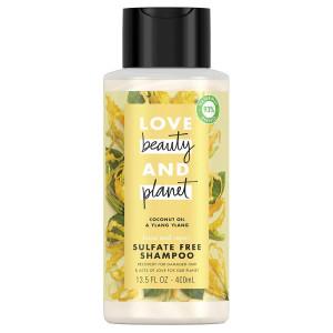 Love, Beauty & Planet Coconut Oil & Ylang Ylang Sulfate Free Shampoo Відновлюючий шампунь без сульфатів з оліями кокоса та іланг-ілангу 400 мл