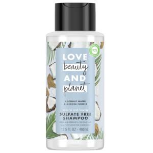 Love, Beauty & Planet Coconut Water & Mimosa Flower Sulfate Free Shampoo Шампунь для об'єму тонкого волосся без сульфатів з кокосовою водою та екстрактом квіток мімози 400 мл