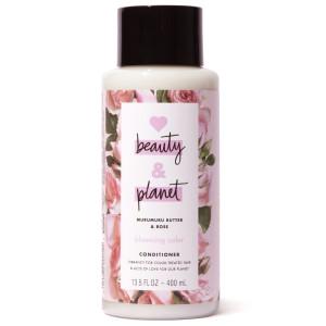 """Love, Beauty & Planet Murumuru Butter & Rose Conditioner Кондиціонер для фарбованого волосся з маслом мурумуру та екстрактом троянди """"Квітучий колір"""" 400 мл"""