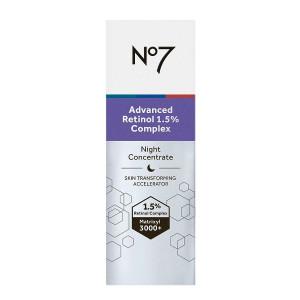 No7 Laboratories Advanced Retinol 1.5% Complex Night Concentrate Ночной антивозрастной концентрат для лица с ретинолом 3 мл (миниатюра)