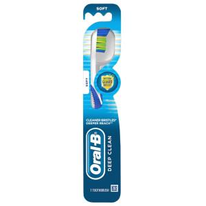 Oral-B Deep Clean Manual Toothbrushes Soft Зубна щітка м'яка, синя