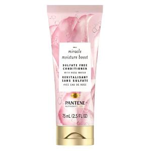 Pantene Miracle Moisture Boost Conditioner Зволожуючий кондиціонер для волосся з рожевою водою 75 мл