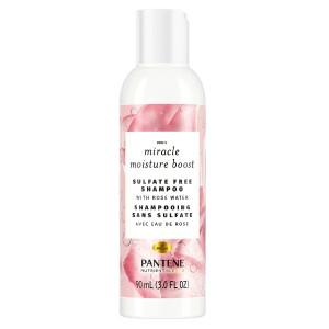 Pantene Miracle Moisture Boost Shampoo Зволожуючий безсульфатний шампунь для волосся з рожевою водою 90 мл