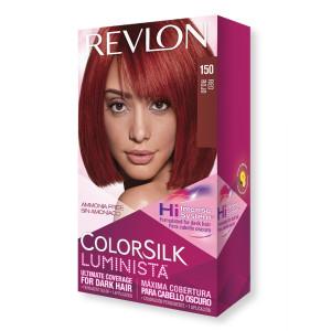 Revlon ColorSilk Luminista Hair Color Стійка фарба для темного волосся відтінок 150 Red (Червоно-рудий)